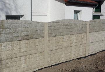 Zaunbau Betonzaun Wernigerode 360x250